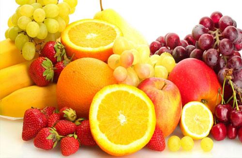 خواص میوه جات بر اساس رنگ آن