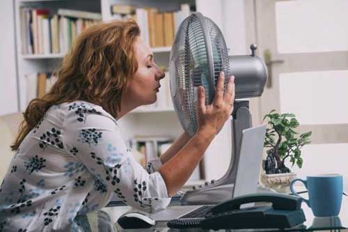 داغ شدن بدن نشانه چیست؟